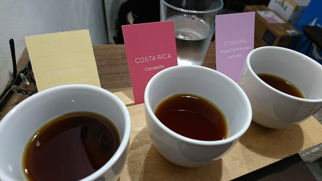 680yen,有點種咖啡可試,當中有來自Costa Rica及Ethiopa。